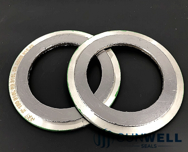 Kamprofile Gasket with Integral Outer Ring